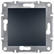 Выключатель одноклавишный Антрацит Asfora Plus Schneider Electric EPH0100171