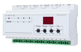 Перемикач фаз електронний Новатек ПЕФ-319 32А