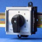 Кулачковий пакетний перемикач фаз Spamel 40A на Din SK40-2.866/S10