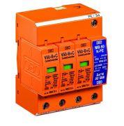 Розрядник ОПН для захисту від блискавки V 50-B+C 3+NPE 280V OBO Bettermann 5093654
