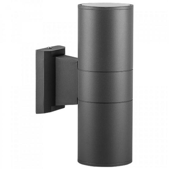 Архітектурний світильник 2xE27 Feron DH0702 чорний