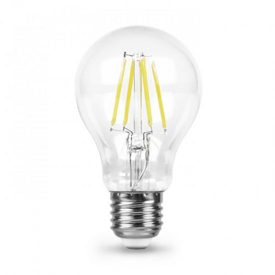 Лампа светодиодная 6W E27 4000K filament Feron LB-57 A60