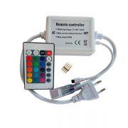 Контроллер RGB 220В 600W-IR-24 кнопки