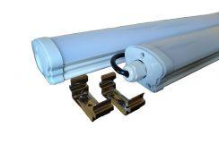Светодиодный промышленный светильник 1200мм 40W 6500K IP65 LPP40-600-6500K-40W