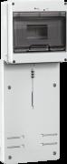 Панель для установки 3-фазного счетчика с боксом ПУ3/2-8 IEK MPP10-3