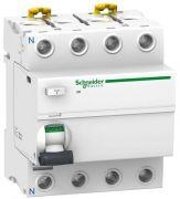 Диференційний вимикач навантаження ПЗВ iID 4P 80A 30мА AC Schneider Electric A9R11480