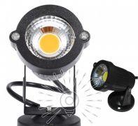 Светильник садовый COB 7W 630LM 6500K IP65 черный Lemanso LM19