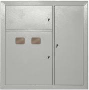 Корпус металевий поверховий на 2-квартири ЩЭ-2-1 36 УХЛ3 IP31 IEК MKM42-02-31