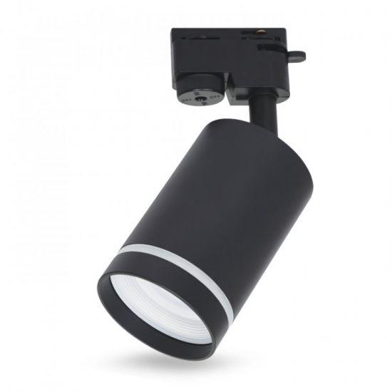 Трековий світильник під лампу GU10 Feron ML338 чорний
