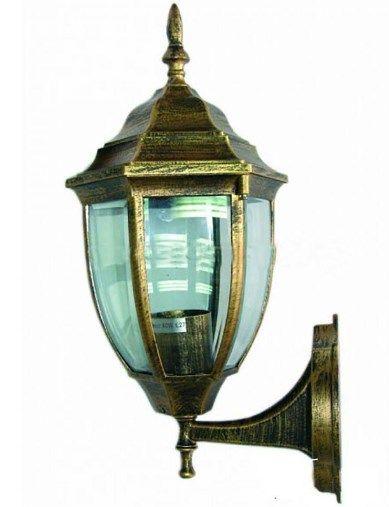 Светильник уличный античное золото на стену 60W IP44 Lemanso PL5101