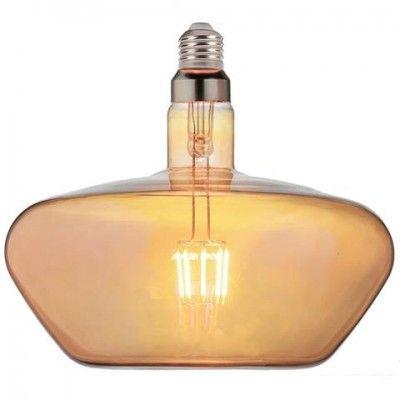 Лампа свiтлодiодна 8W E27 2200K filament Horoz GINZA Amber