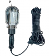 Переносний ліхтарик гаражний Е27 з подовжувачем 20м Lemanso LMA084
