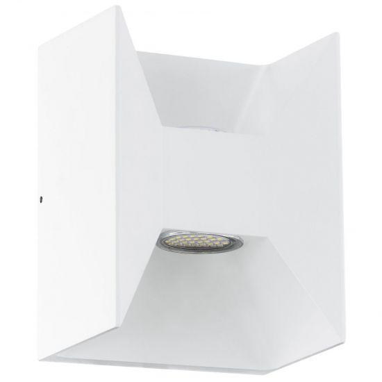 Настенный светильник уличный Eglo MORINO 2х2,5W 3000K IP44 белый