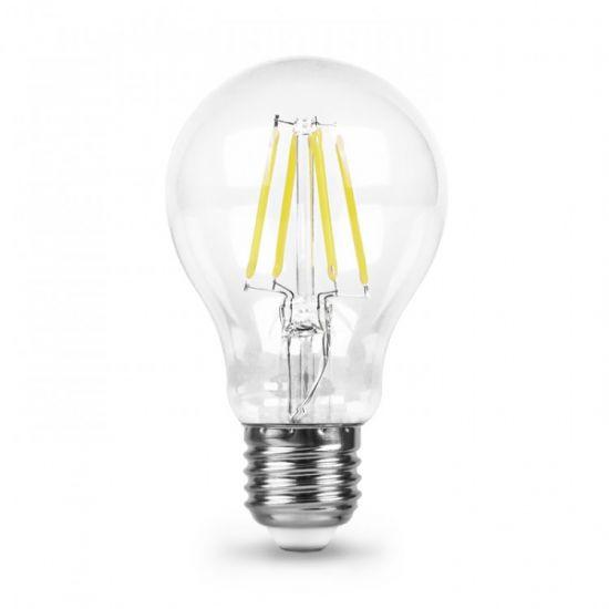 Лампа светодиодная 8W E27 4000K filament Feron LB-63 A60
