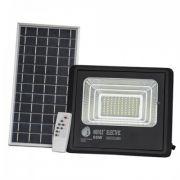 Прожектор светодиодный с солнечной панелью 60W 6400K TIGER