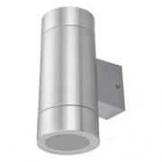 Підсвітка для стіни срібло LED Lemanso 2хE27 - G45/A60 IP65 LM1111