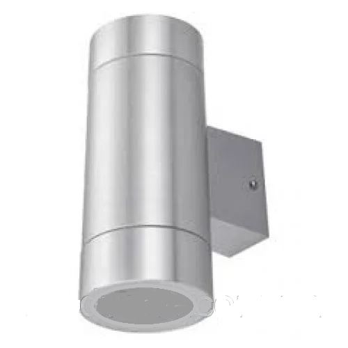 Подсветка для стены серебро LED Lemanso 2хE27 - G45 / A60 IP65 LM1111