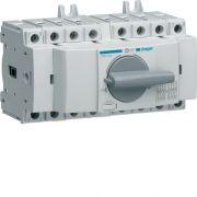 Перемикач перекидний трьохпозиційний Hager I-0-II 40А 400/690В 4п 7м HIM404