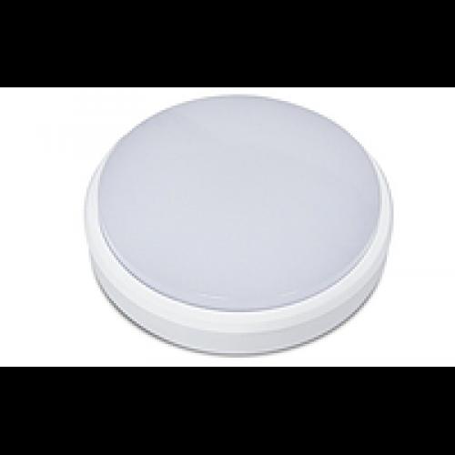 Светильник светодиодный для ЖКХ 12W 6500K Круг Lemanso IP65 LM32008