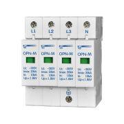 Ограничитель импульсных перенапряжений 4 модуля 380 In: 10kA ОПН-М (4S)