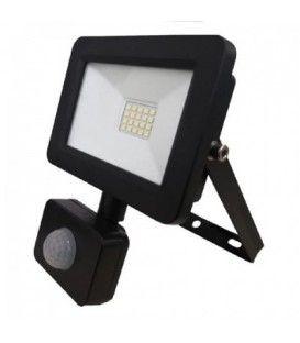 Прожектор світлодіодний з датчиком руху 20W 6400K AVT