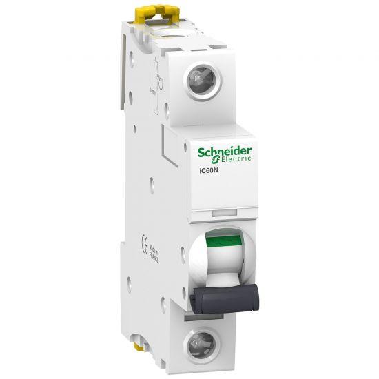 Автоматический выключатель 1P 32A D 6kA Schneider Electric Acti 9 iC60N A9F75132