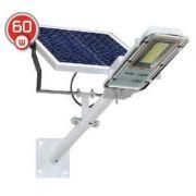 LED світильник вуличний 60W на сонячній батареї з пультом 6500K IP65 VARGO VS-049