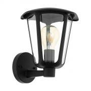 Настенный светильник уличный Eglo MONREALE 1хE27 IP44 черный
