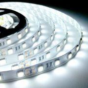 Светодиодная LED лента SMD5630 60 герметичная IP65 белая сверхяркая (Standart)