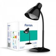Настільний світлодіодний світильник 7Вт 5000K чорний Feron DE1727