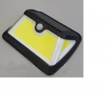 Подсветка стены 5W 6500K IP65 с датчиком движения + солнечная панель + аккумулятор Lemanso LM33006