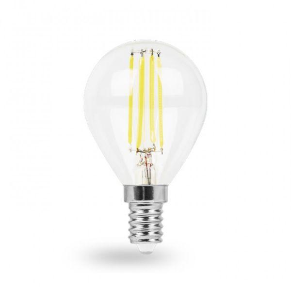 Лампа светодиодная 7W E14 2700K filament Feron LB-162 P45