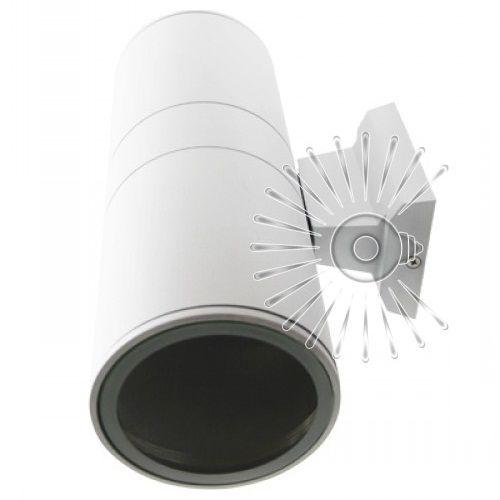 Подсветка для стены белая LED Lemanso 2хE27 - G45 / A60 IP65 LM1109