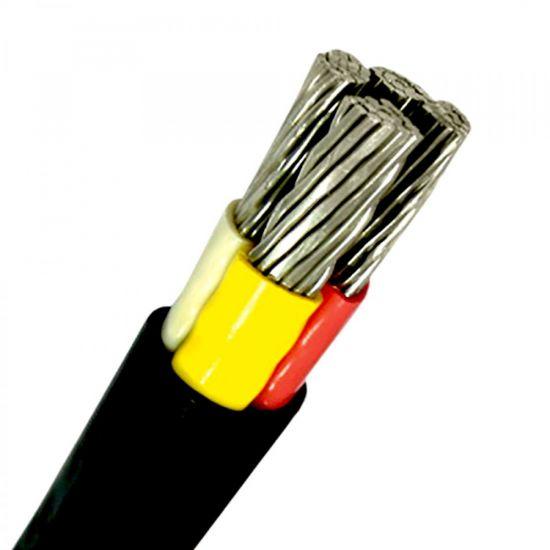 Силовой кабель алюминиевый АВВГ 4х240