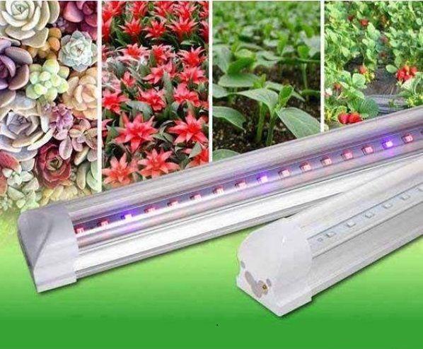 Светильник светодиодный для растений 1200мм 16Вт красный: синий 4: 2 ФИТО свет