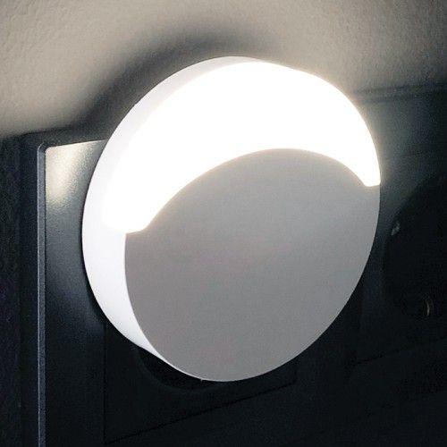 Ночник светодиодный белый с датчиком освещенности Feron FN1119