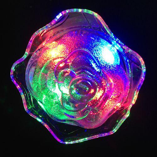 Ночник светодиодный RGB с выключателем Feron FN5003 цветок