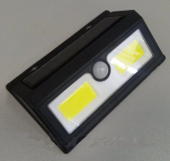 Подсветка стены 5W 6500K IP65 с датчиком движения + солнечная панель + аккумулятор Lemanso LM33005