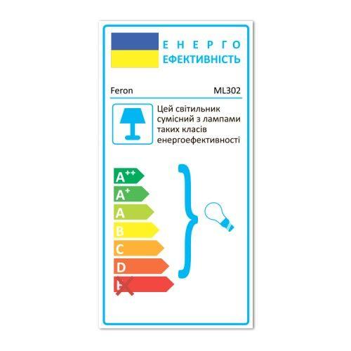 Акцентный светильник под лампу GU10 Feron ML302-A черный