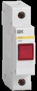 Сигнальна лампа ЛС -47 неон. (червона) ІЕК MLS10-230-K04