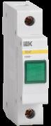 Сигнальна лампа ЛС-47 неон. (зелена) 230В ІЕК MLS10-230-K06