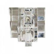 Вбудований світильник Feron 1525 прозорий