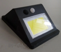 Подсветка стены 5W 6500K IP65 с датчиком движения + солнечная панель + аккумулятор Lemanso LM33003