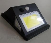Подсветка стены 5W 6500K IP65 с датчиком движения + солнечная панель + аккумулятор Lemanso LM33002
