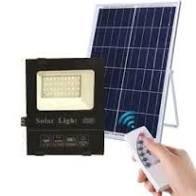 LED прожектор 60W на солнечной батарее с пультом 6500K IP65 VARGO VS-048