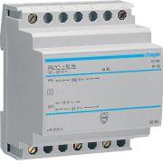 Трансформатор на DIN-рейку 230В/24В (0,67А), 230В/12В (1,33А) Hager ST313